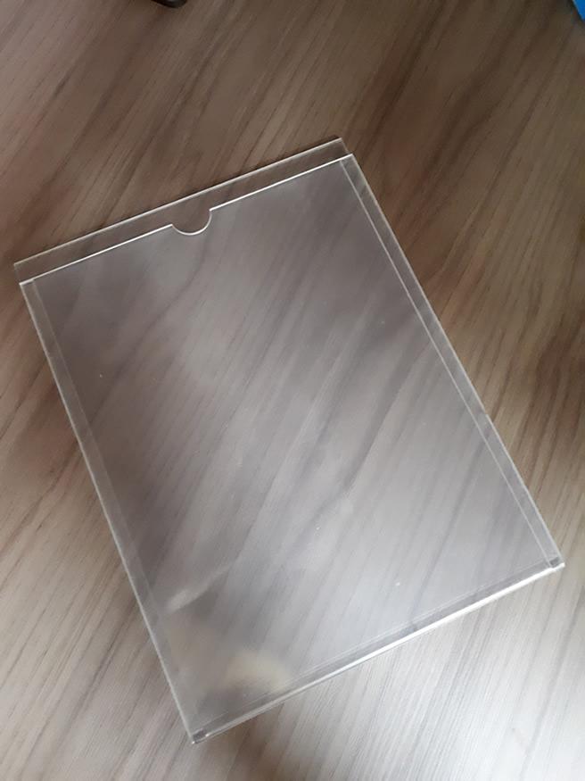 Porta Folhetos Display A4 Vertical
