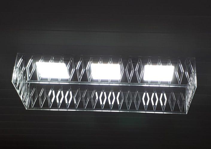 Caixa Para Luminária em Acrílico