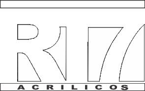 RT7 Acrílicos - Logomarca